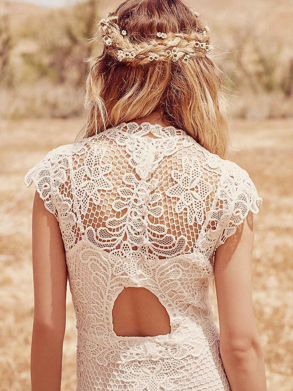 Jill's Corsage Dress Back View