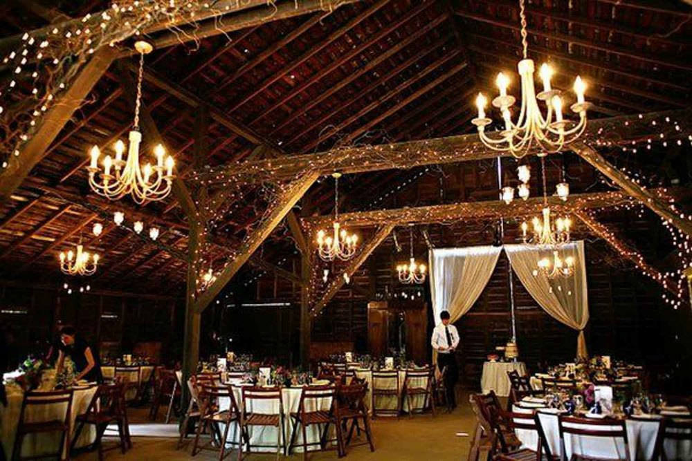 16 Rustic Barn Wedding Reception Ideas the bohemian wedding