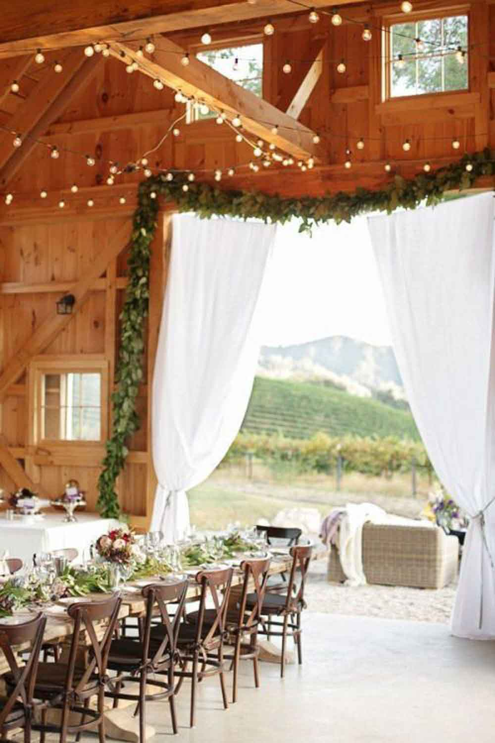 16 Rustic Barn Wedding Reception Ideas — the bohemian wedding