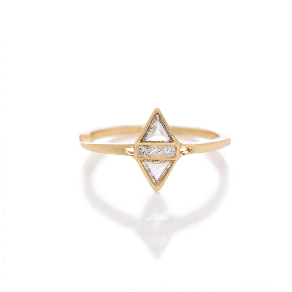 Split Love Ring