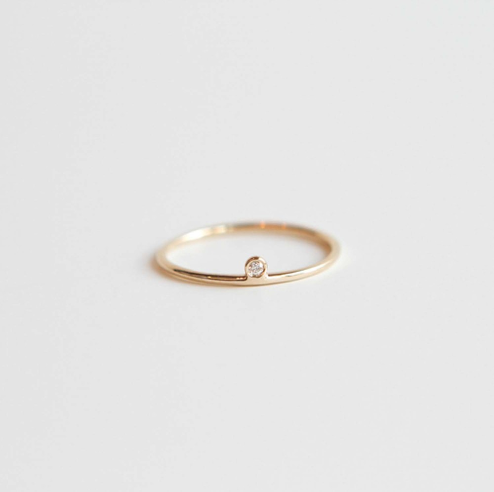 three bands simple image stone wedding nine design minimalist diamond ring available at black crown rings engagement
