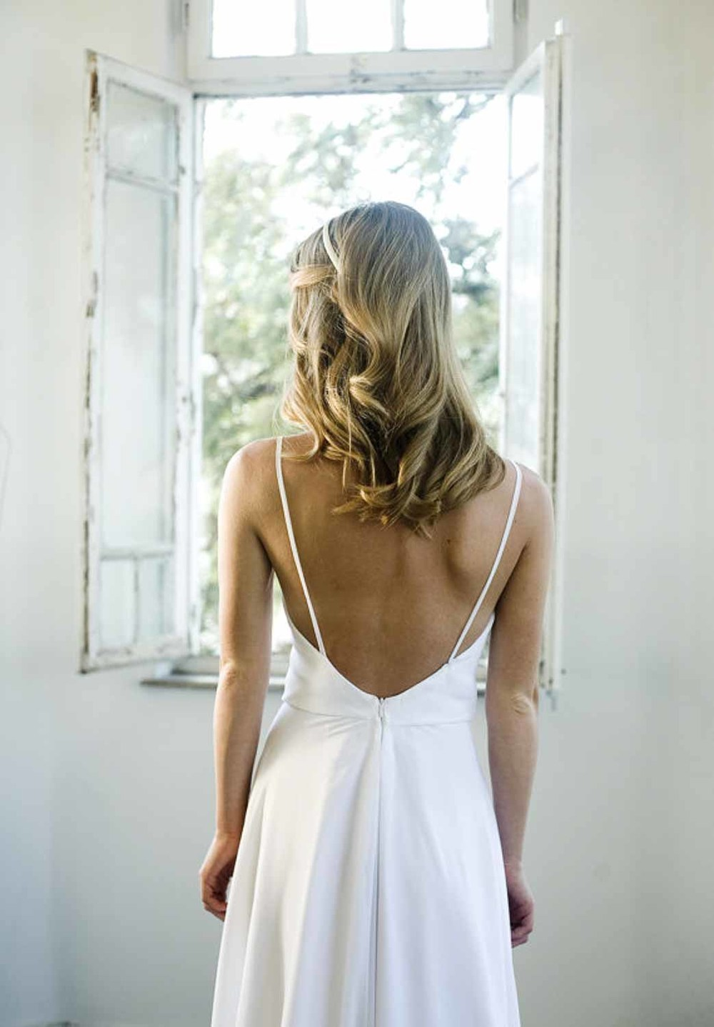 Easy Simple Dress Back View