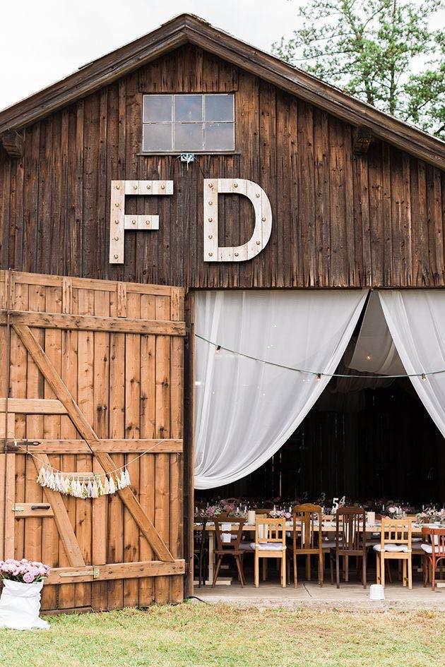 Barn Marquee Letters