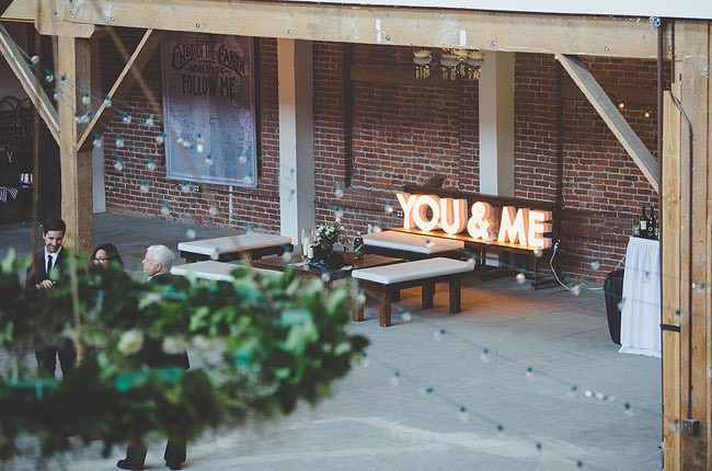 You & Me Marquee Letters