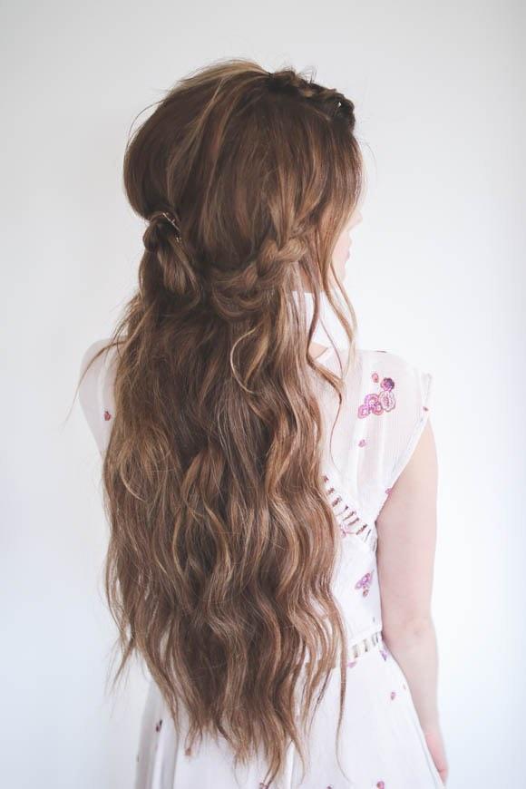 Wedding Hair Tutorial Step 4