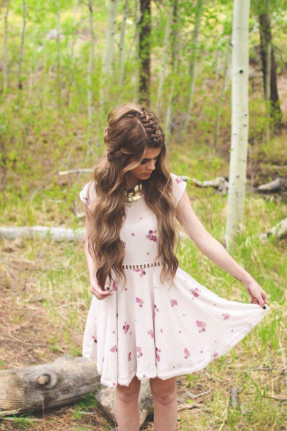 Half-up Wedding Hair Tutorial