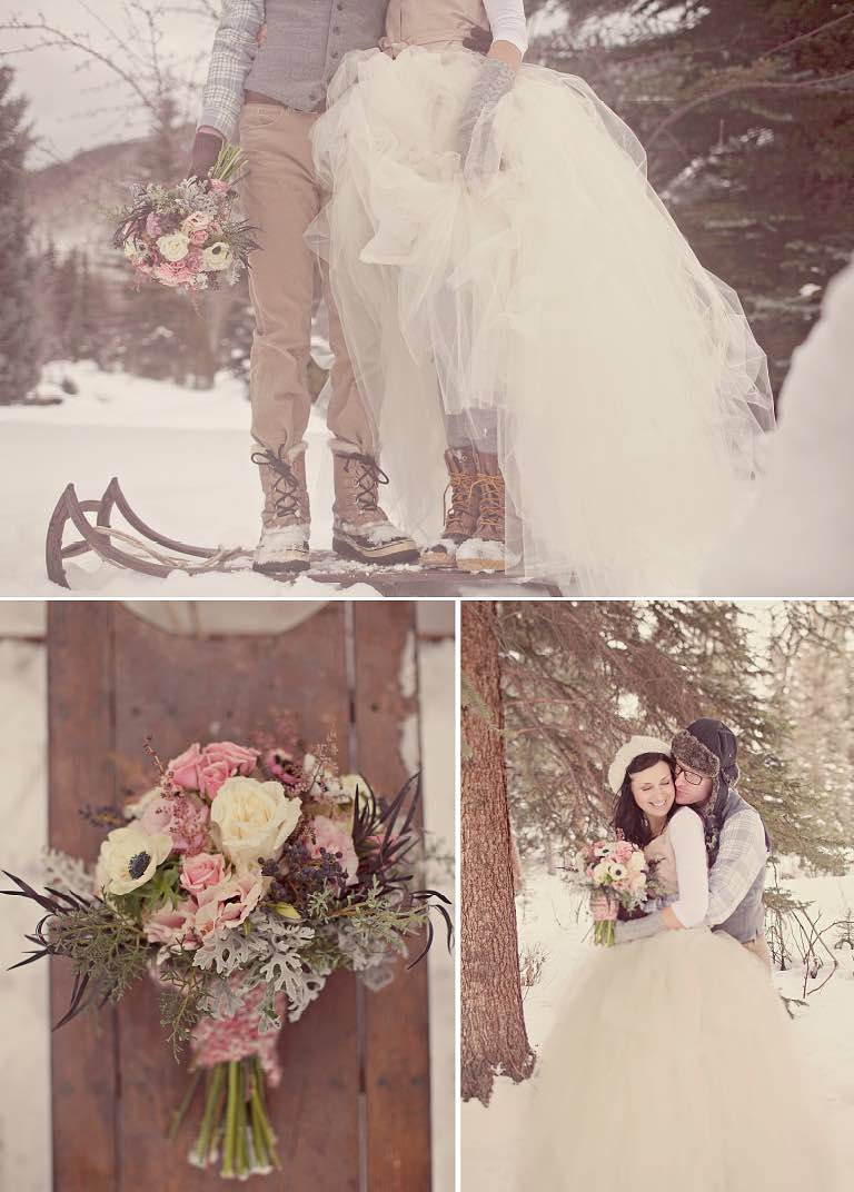 16 Ways to Style a Winter Wedding — the bohemian wedding