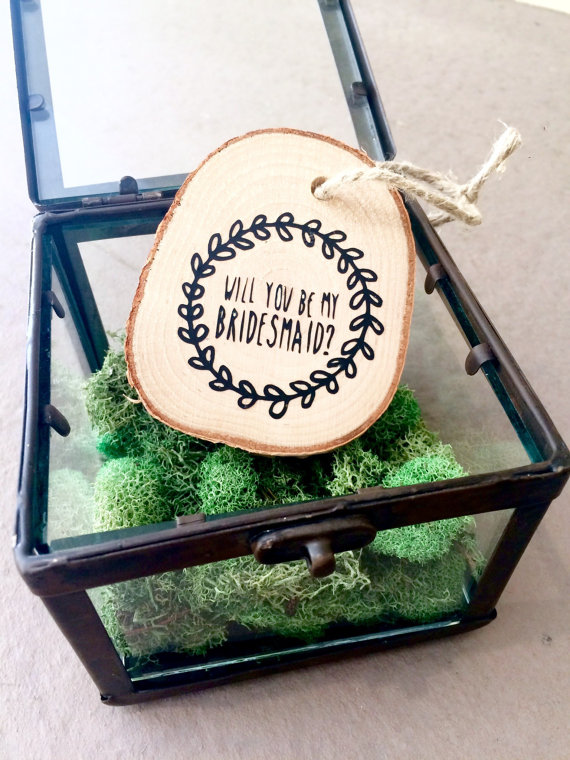 Bridesmaid Proposal Christmas Ornament