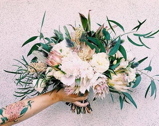 Wild Wedding Florals