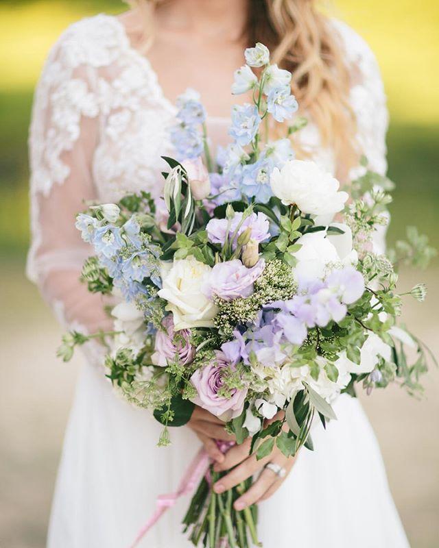 Pastel Wedding Flower Bouqet