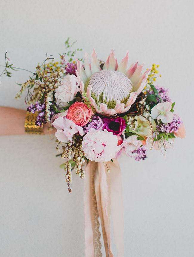 Green Wedding Shoes DIY Wedding Bouquet