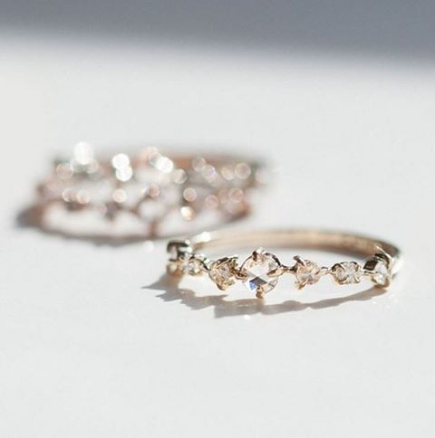 Snow Queen Engagement Ring by Catbird
