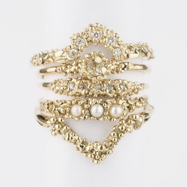 Gold Engagement Rings by Sarah Brown Jewellery