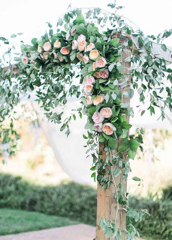 Top 12 Wedding Ceremony Arches With Flowers The Bohemian Wedding