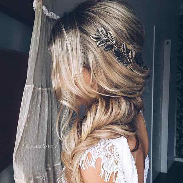 Soft and Loose Fishtail Bridal Braid
