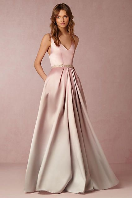 Ombre Pink Wedding Dress