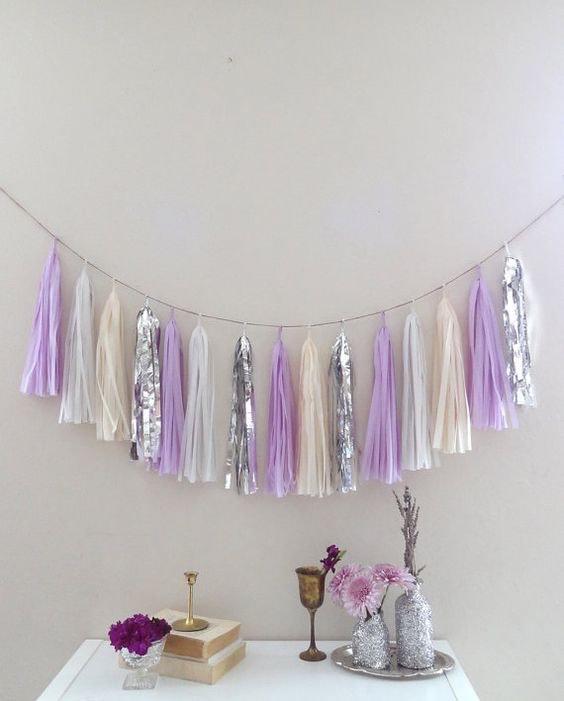 Lavender Tassles