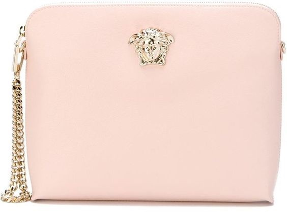 Pale Pink Versace Purse