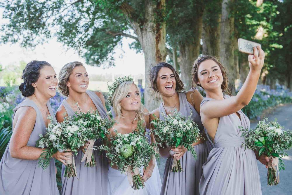 Bridesmaids Selfie