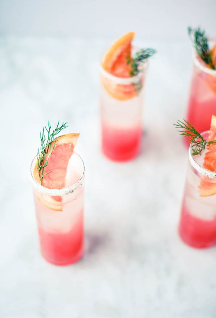 Grapefruit Fennel Fizz Drinks