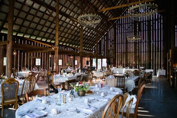 Tin Roof Barn Interior
