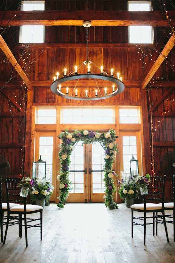 Wedding Barn Interior