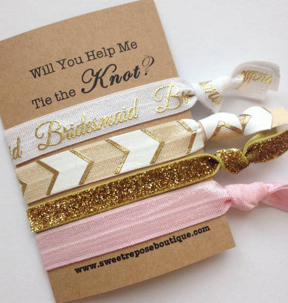 Bridesmaids Hair Ties
