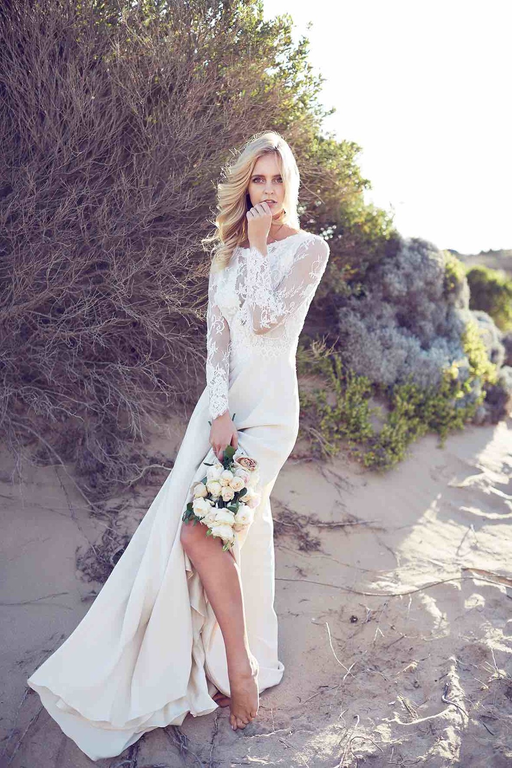 Lost in Love Photography - Wedding Dress Lace Sleeves