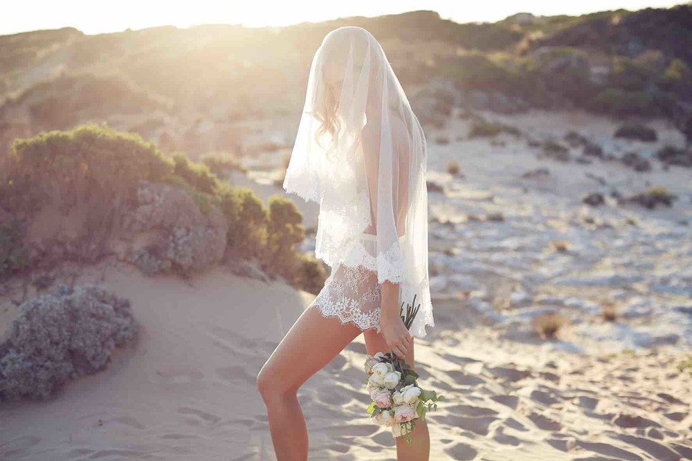 Lost in Love Photography - Wedding Lingerie with Veil