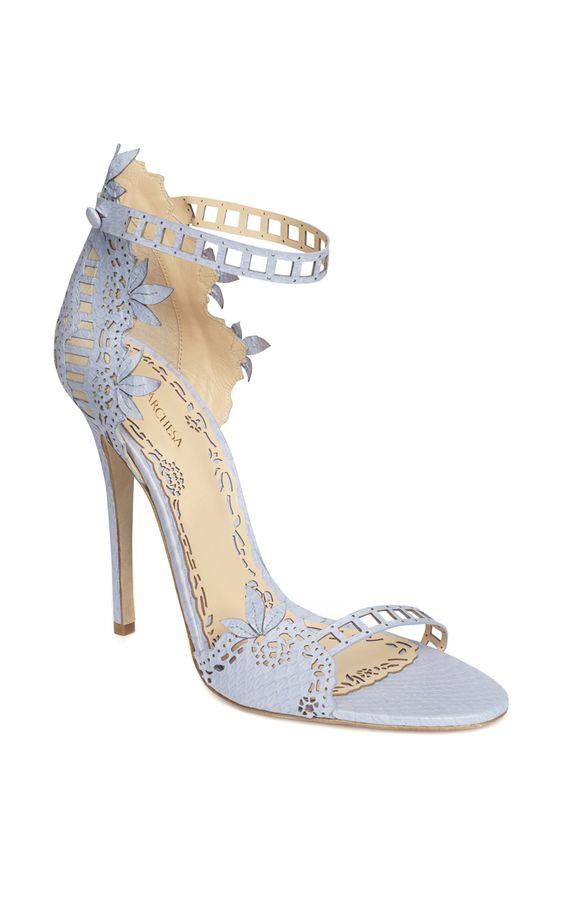 Dusty Blue MARCHESA Heels