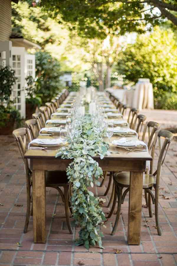 Top 20 Rustic Outdoor Table Settings The Bohemian Wedding