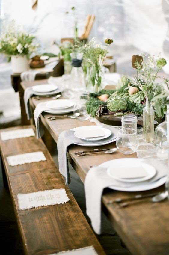 Flora Table Setting