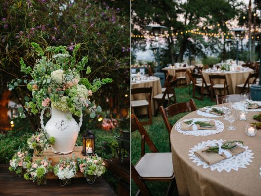 35 Outdoor Wedding Decoration Ideas: Top 20 Rustic Outdoor Table Settings