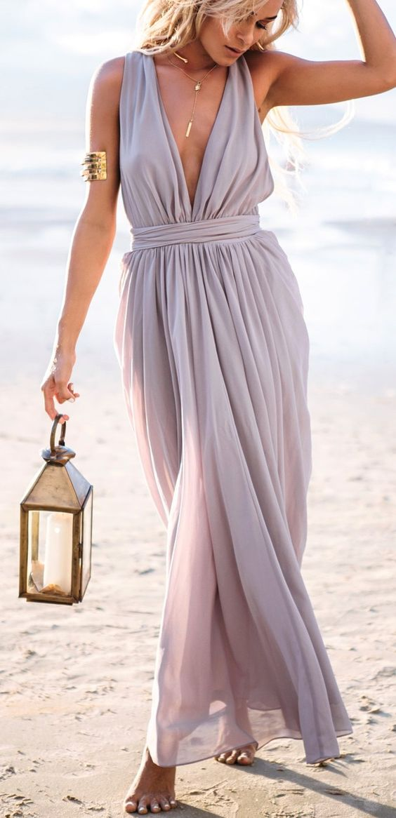 Light Purple Maxi Dress