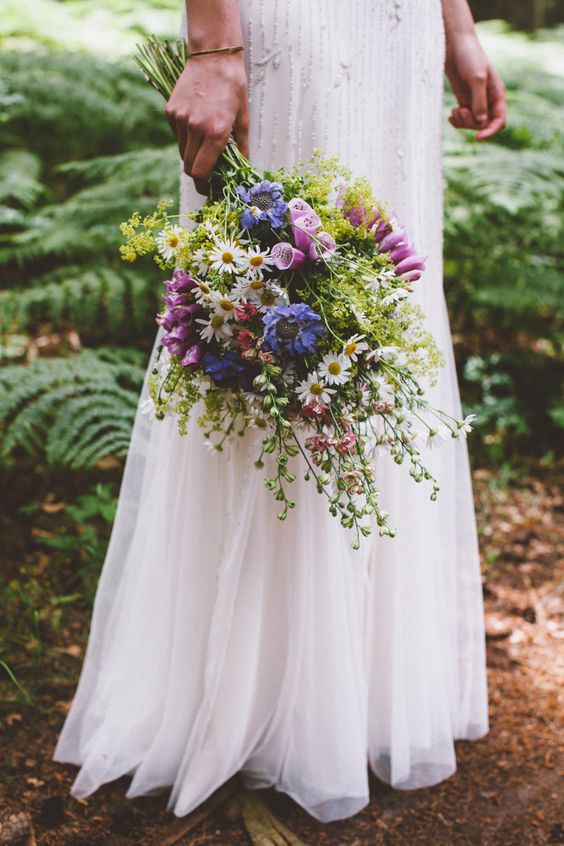 Wildflowers Wedding Bouquet