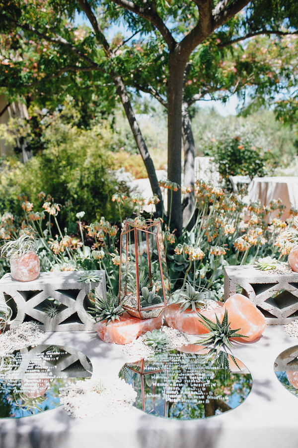 Desert Geometric Wedding Tablescape