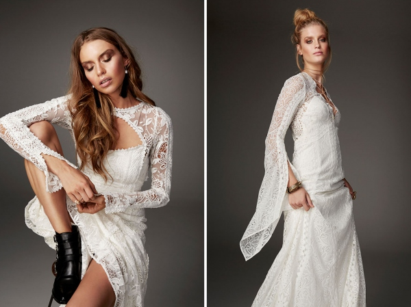 Rue De Seine Eclipse and Woodrose Dress