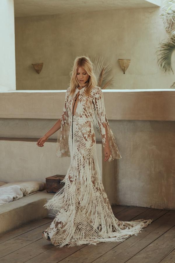 Rue De Seine Hendrix Gown Editorial