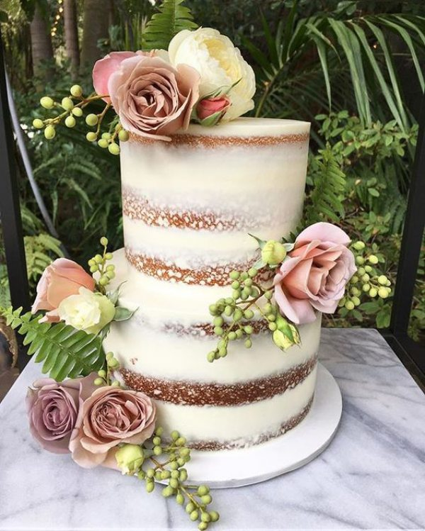 White Wedding Semi-Cake with Florals.jpg