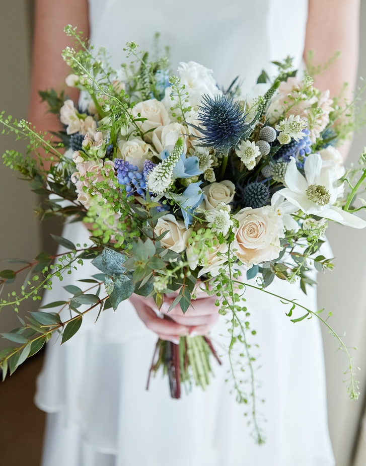 Rustic Pastel Flower Bouquet
