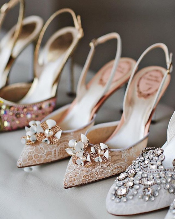 Embellished shoes from Rene Caovilla