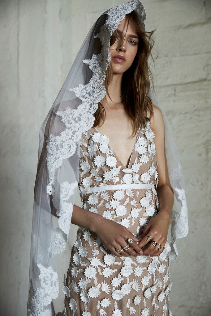 For Love and Lemons Marguerite Gown