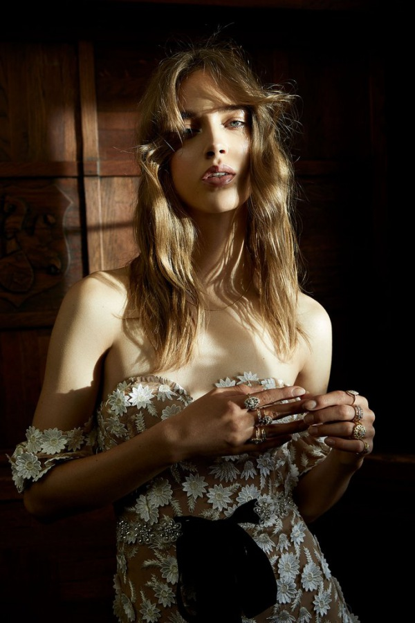 For Love and Lemons Amelia Gown Details
