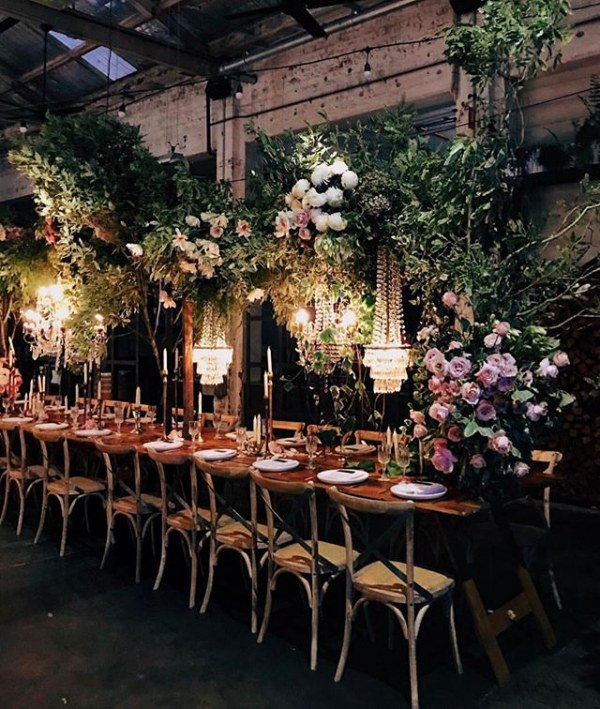 Chandeliers with Botanicals