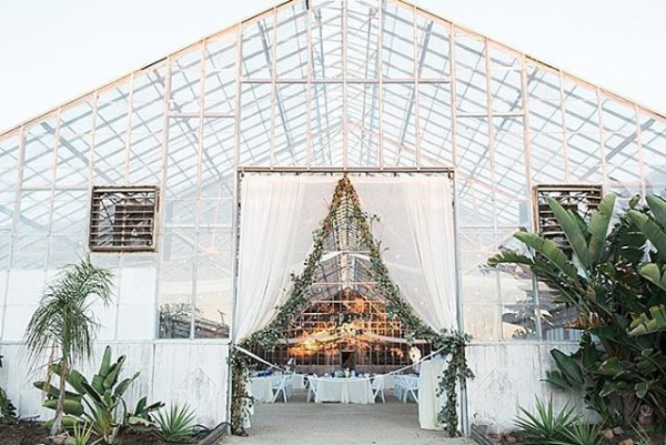 Glass Greenhouse Reception