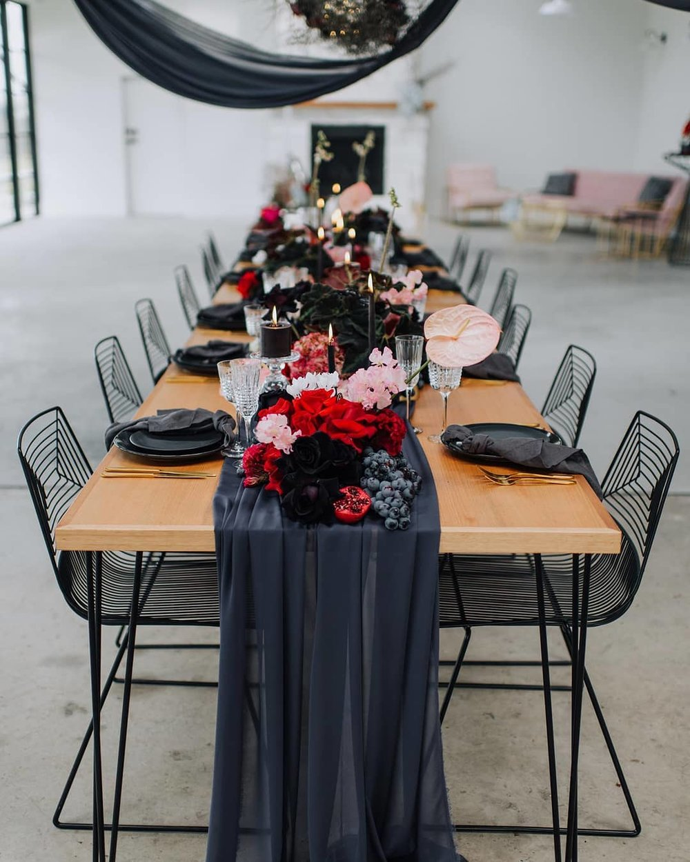 Gothic Table Setting