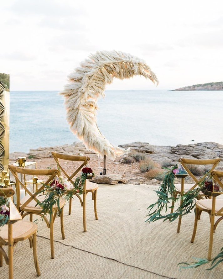 Wedding Moon Arbour Backdrop