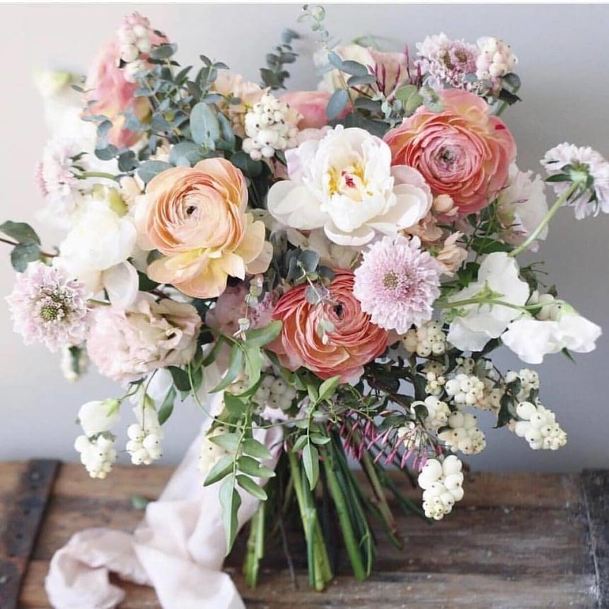 Spring Pastel Flower Bouquet