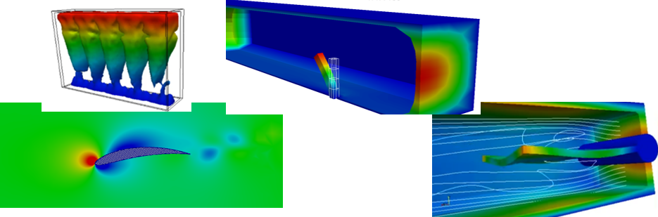 3D, transient FSI problems