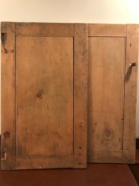 Antique Cabinet Doors (Set Of 2)